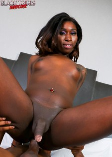 Nubian Barbie Worships Cock And Gets Fucked!