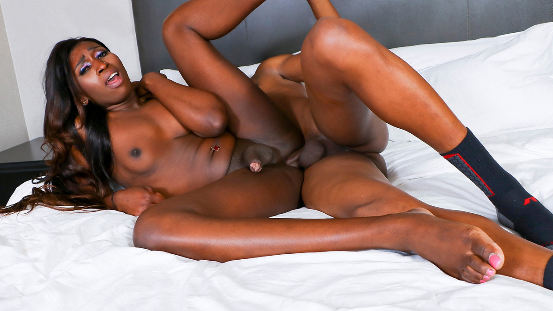 Nubian Barbie Worships Cock And Gets Fucked Today Black Tgirls Hardcore